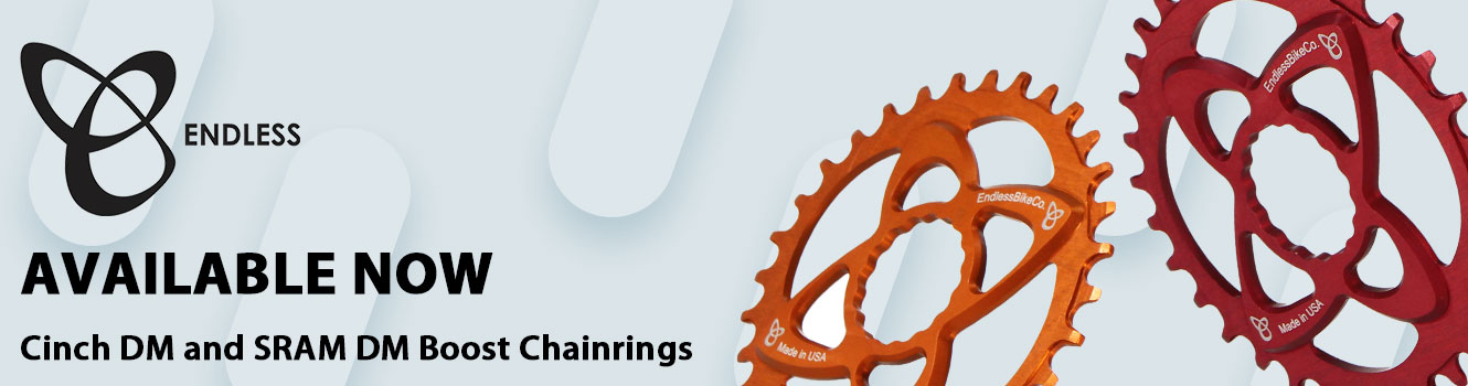 Endless Bike Cinch and SRAM DM Chainrings