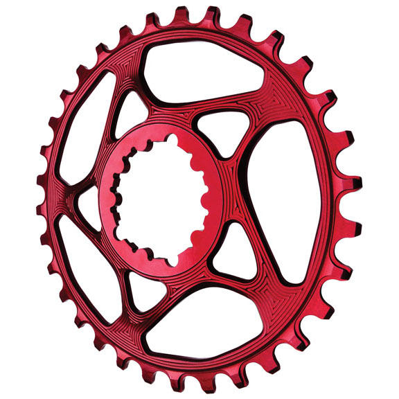 Spiderless GXP Direct Mount Chainring, 28T  - Red  welcome to buy