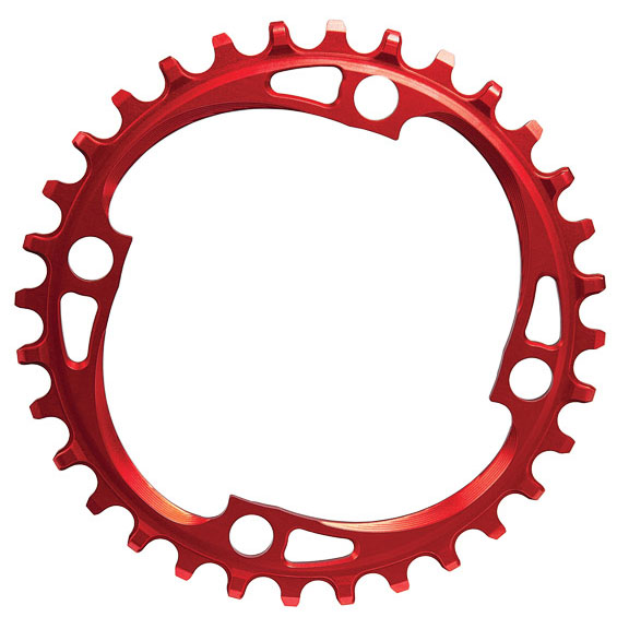104 Chainring, 104BCD 32T - Red