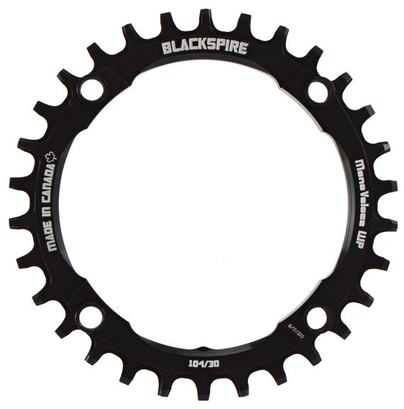 Snaggletooth NW Chainring, 104BCD 30t - Blk