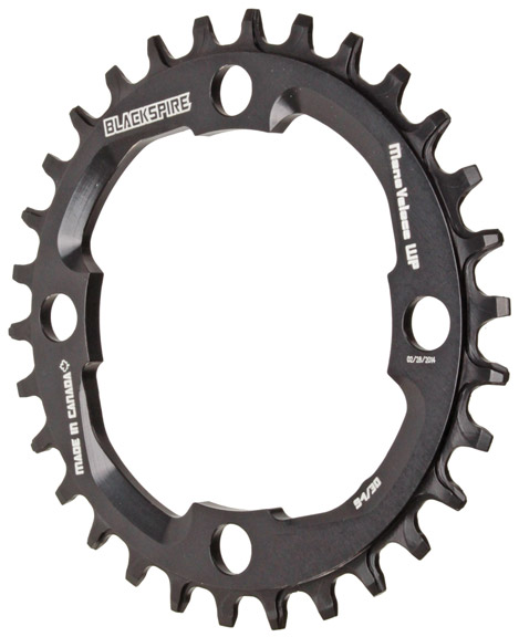 Snaggletooth NW Chainring, 94BCD 30t - Blk