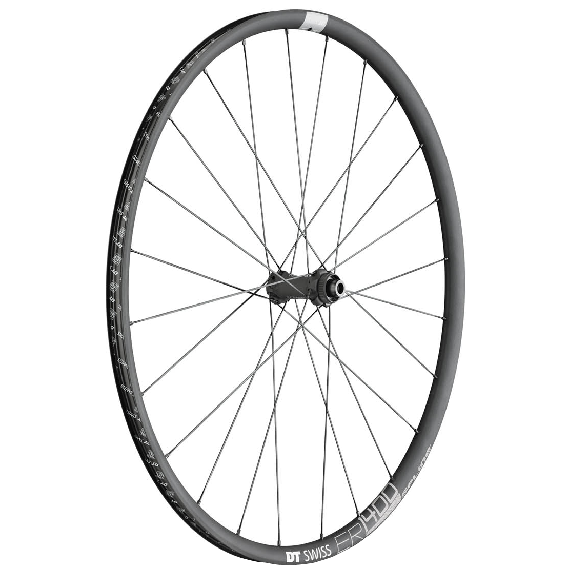 ER 1400 Spline Disc, 700c, Front Wheel, 24h