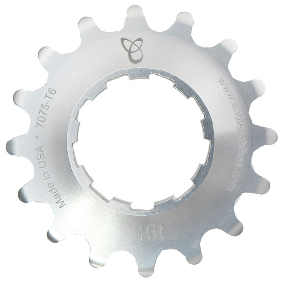 Kick Ass Cog 16t Silver Ano