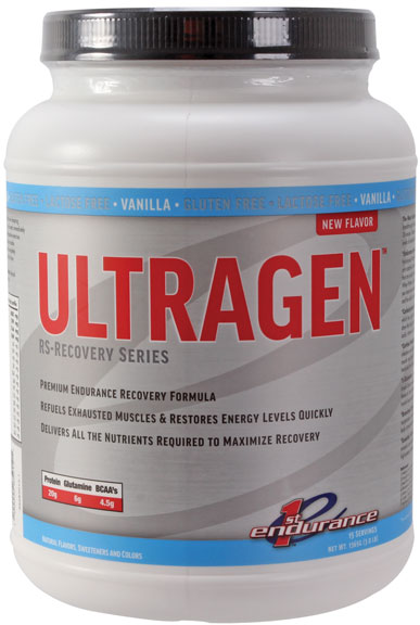 Ultragen Recovery Mix, Vanilla - 3lb Canister