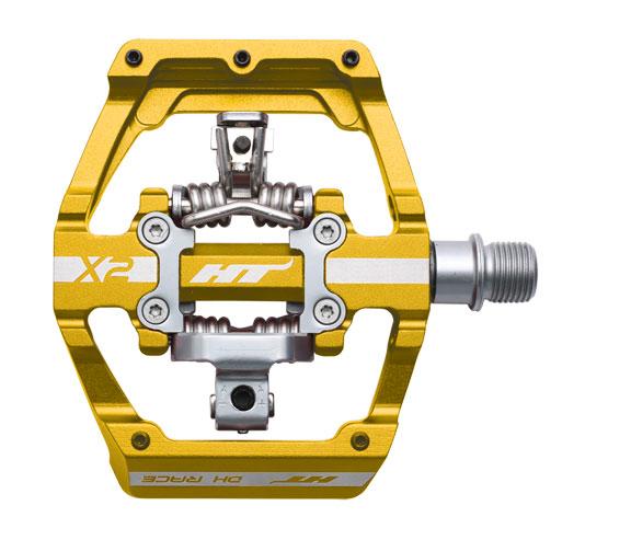 X2 Clipless Platform  Pedals, CrMo - gold  70% off cheap