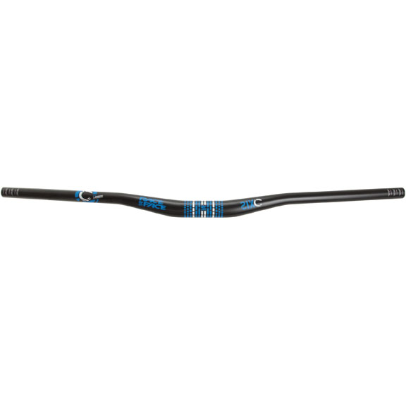 SIXC Riser Bar, (31.8) 20mm 785mm, Sil bluee Logo