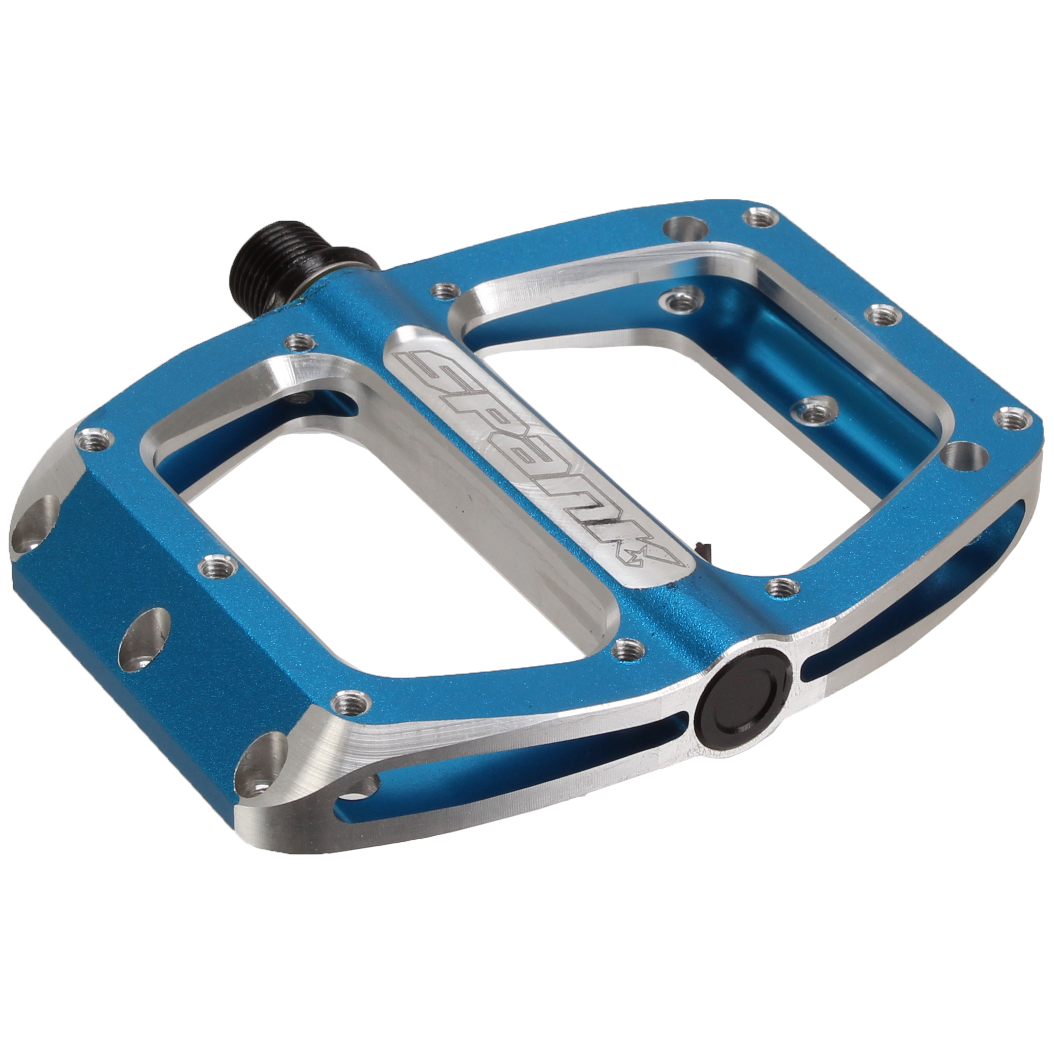 Spoon 100 Platform Pedals, Medium - blueee  NLS