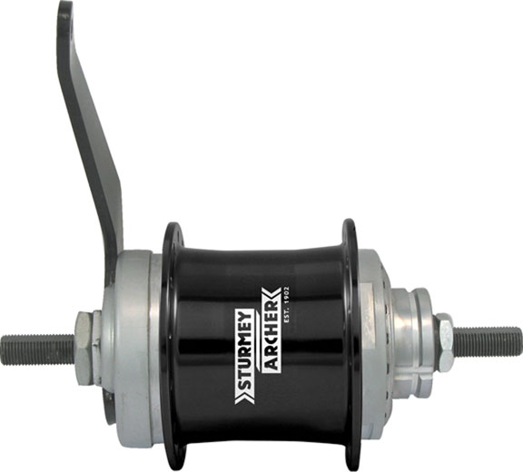 S2C Duomatic 2-Sp Coaster Brake Hub, 32h 116mm OL