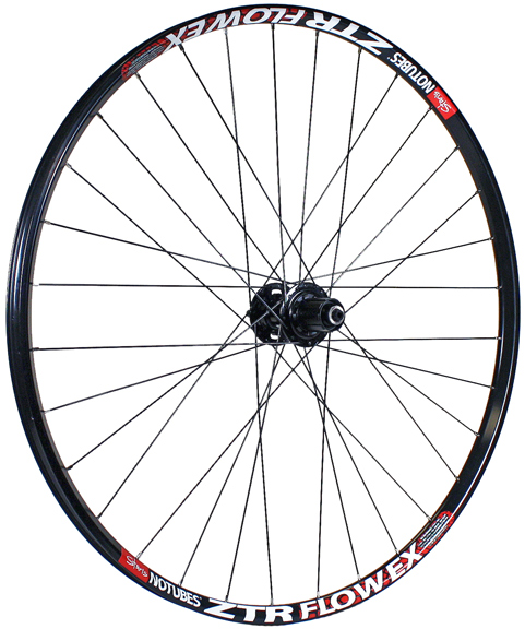 Stan'S Flow EX 26  M756 IS Disc QR135 8-11sp R, Blk