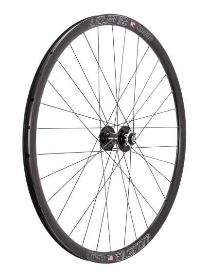 Aileron Clydesdale Disc 700c Front Wheel, Blk