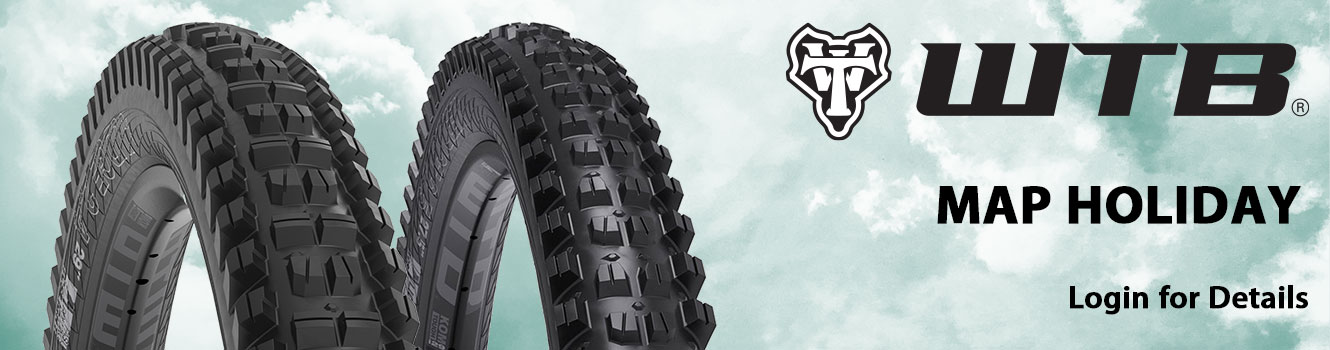 WTB Map Holiday on Select Tires - Login for Details